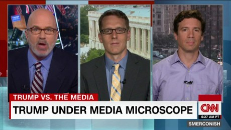 Trump; Vs. The Media: A losing battle? _00012801