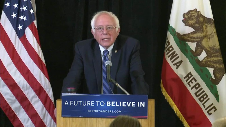 bernie sanders hillary clinton contested convention sot_00003704