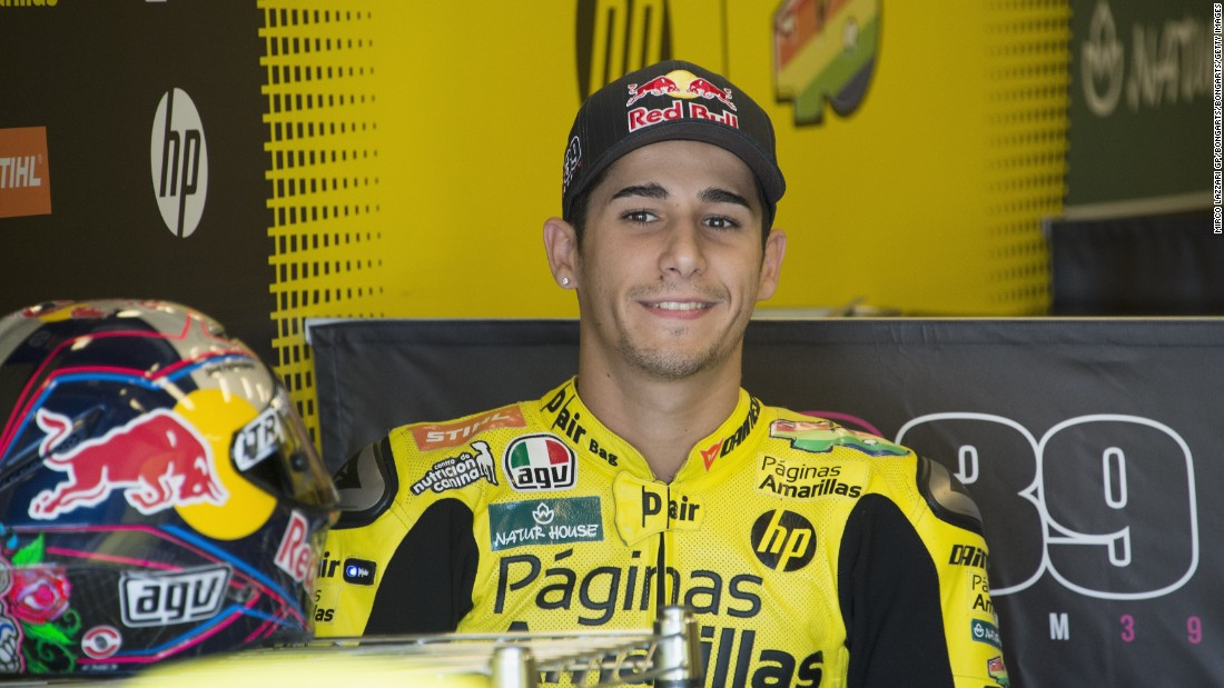 Luis Salom: MotoGP mourns death of young star - CNN.com