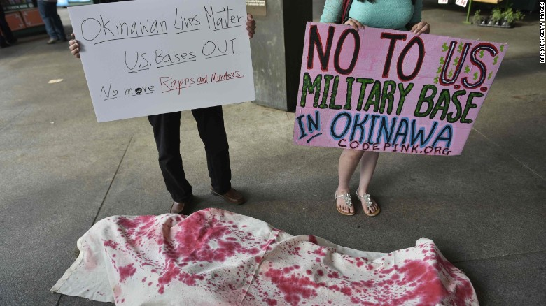 USA returns 4000 hectares of its Japanese military bases