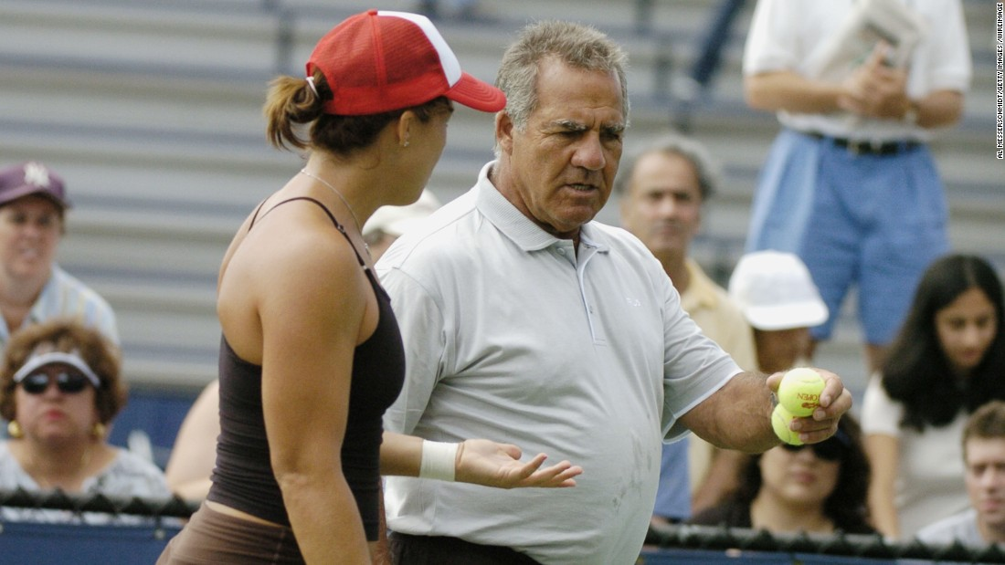 "The coach and father of American former world no. 1 Jennifer Capriati introduced Jennifer to the professional circuit at the age of 13. After staggering early success, she quit tennis reportedly<a href=""https://www.theguardian.com/sport/2003/apr/06/tennis.features"" target=""_blank""> telling her dad</a>, ""Leave me alone, you're screwing up my life."" Soon after  she was <a href=""http://www.nytimes.com/1994/05/17/sports/tennis-capriati-is-arrested-in-drug-charge.html"" target=""_blank"">arrested</a> for marijuana and shoplifting. At 24, a dramatic comeback saw her win one French and two Australian Opens, with dad Stefano as her coach."