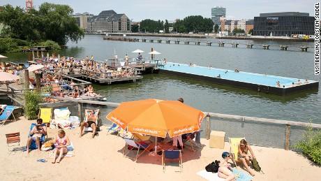 Berlin: Big on swimming.