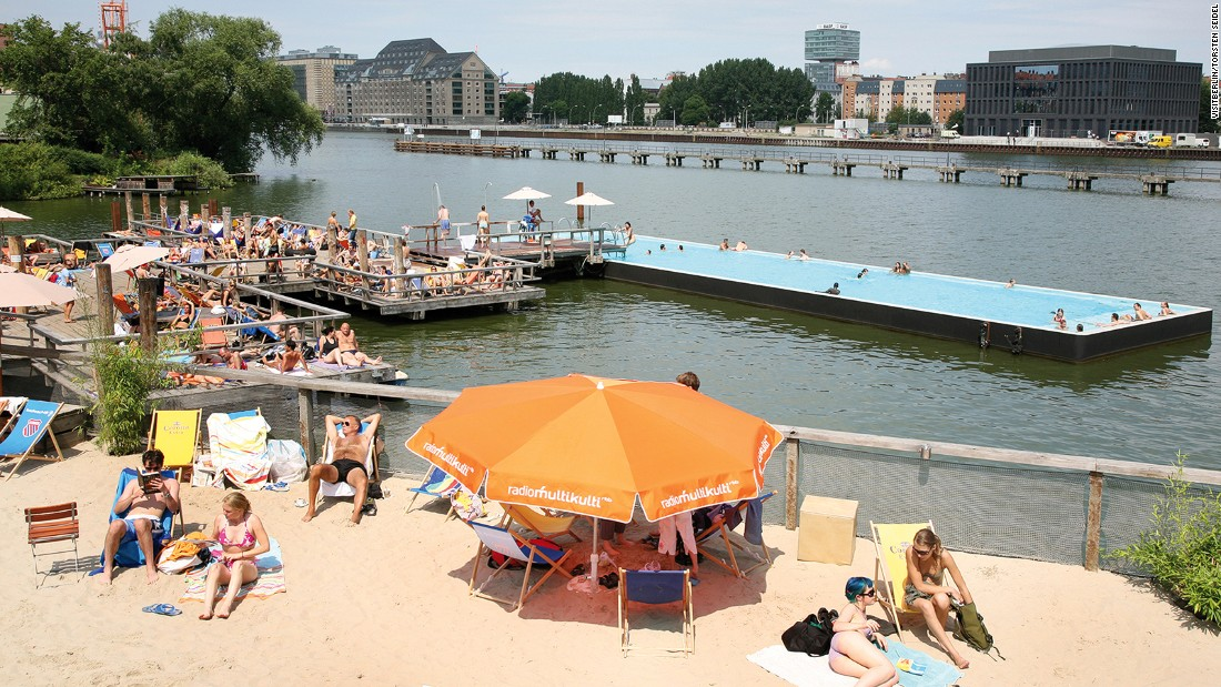 It may be miles from the sea, but the German capital has no shortage of glorious freshwater beaches.