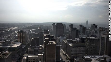 "The United States has warned that ""upscale shopping areas"" in cities such as Johannesburg could be targeted."
