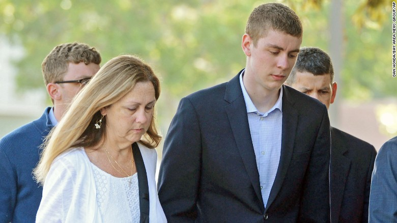 Outrage over lenient sentence in Stanford rape case
