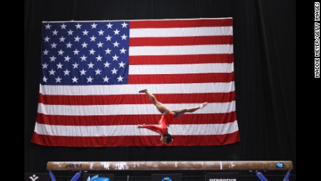 Simone Biles could win five of six medals available in the Rio Olympics, including on the balance beam.