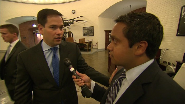 Rubio on considering re-election: 'Nothing's changed'