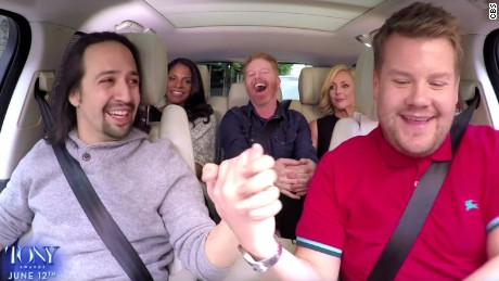 James Corden & Lin-Manuel team up for epic 'Carpool Karaoke'