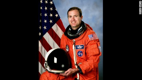 Halsell served on five space shuttle missions for NASA before retiring in 2006.