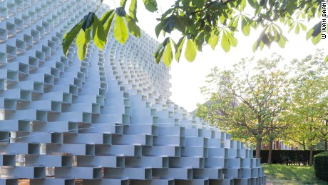 Futuristic new Serpentine Gallery Pavilion opens in London