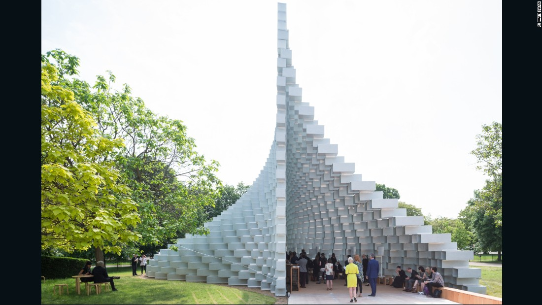 Bjarke Ingels, founder of Danish firm BIG Architects, is the latest architect to design a Serpentine Gallery Pavilion. In the past, the gallery has commissioned structures from Zaha Hadid, Jean Nouvel and Rem Koolhaas, among others.
