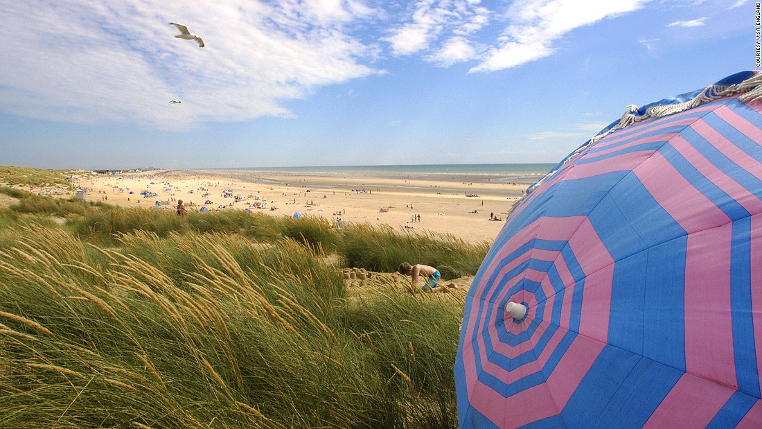 England's intensely varied coastal destinations come into their own in the summer. Unlike the perennially popular nearby holiday park at Camber, wide stretches of Camber Sands are often deserted.