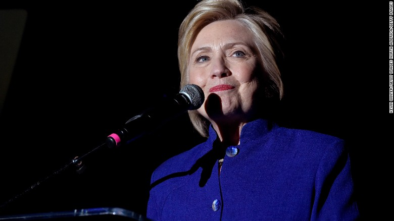 Hillary Clinton on the verge of a historic moment