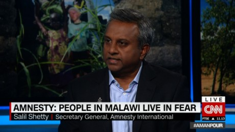 Amnesty: Malawi 'accepts there's a problem'