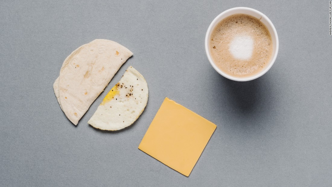 For those counting their calories, the egg and cheese Wake-Up Wrap has only 150 of them, and adding a latte with skim milk doubles the protein and more than triples your calcium intake.