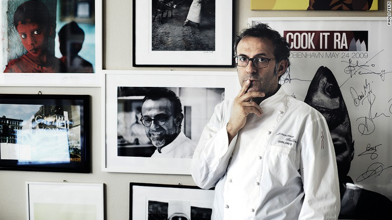 Well-known chef Massimo Bottura says 2017 is about making food accessible for more people.