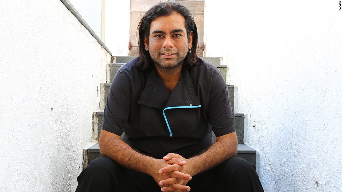 "This is the man who handed over his kitchen to Elverfeld for the night. Gaggan Anand's restaurant was named <a href=""http://edition.cnn.com/2016/02/29/foodanddrink/asia-best-restaurant-2016/"">Asia's top restaurant</a> two years in a row."