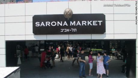 Tel Aviv market a 'classic soft terror target'