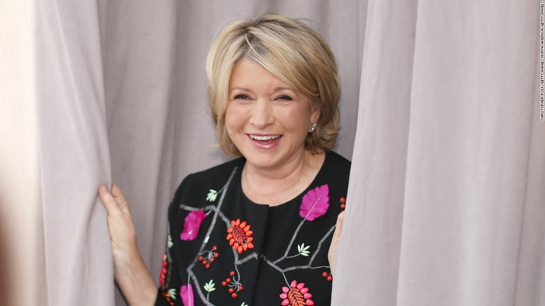 Media entrepreneur and master of all things homemade Martha Stewart graduated from Barnard College in 1963 with a degree in history and architectural history. Her first job out of college would be working as a Wall Street stockbroker.