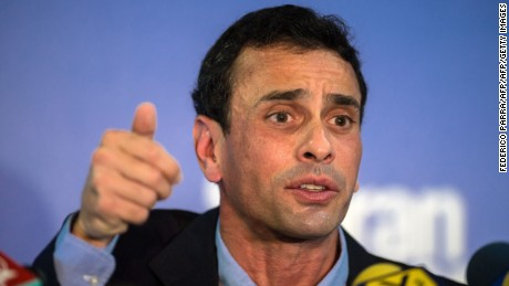 Henrique Capriles: We will change Venezuela