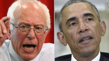 Sanders: Obama's paid Wall Street speech 'distasteful'