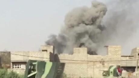 Officials: Iraqi forces retake Falluja neighborhood
