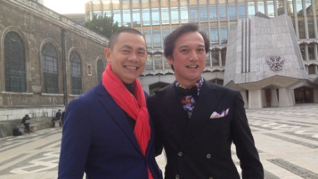 Andre Chiang, left.