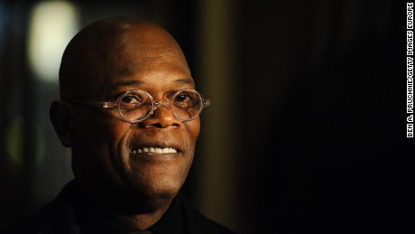 LONDON, ENGLAND - OCTOBER 20:  Samuel L Jackson speaks during the Shooting Stars Benefit Launch 2012 at Corinthia Hotel London on October 20, 2012 in London, England.  (Photo by Ben Pruchnie/Getty Images for Soujar)