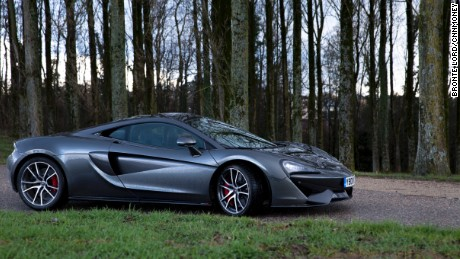 The 570S comes with a 3.8 litre, turbocharged V8 engine.