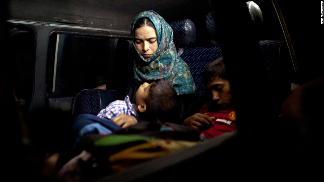 "A boy sleeps in his mother's arms after fleeing their home in Falluja, Iraq, on Monday, June 6. Falluja remains one of the last Iraqi cities under ISIS control. <a href=""http://www.cnn.com/2016/05/26/middleeast/gallery/battle-for-falluja/index.html"" target=""_blank"">Photos: The battle for Falluja</a>"