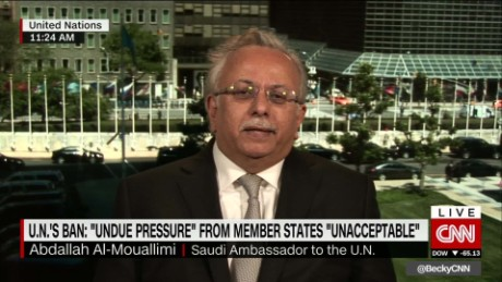 Saudi Arabia: 'It was us who were bullied and threatened'