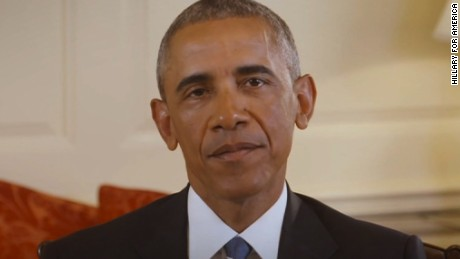 title: President Barack Obama endorses Hillary Clinton for president | Hillary Clinton  duration: 00:03:16  site: Youtube  author: null  published: Thu Jun 09 2016 13:51:38 GMT-0400 (Eastern Daylight Time)  intervention: no  description: SUBSCRIBE for the latest news and updates from the Hillary Clinton campaign ? http://hrc.io/1IoVaSK  Text IN to 47246  Watch more videos from Hillary Clinton!? https://www.youtube.com/watch?v=_ZwguLJVxsM&index=1&list=PLt9jO9QkAAocHqyifNQaGPR-9jipern-b     Stay connected with the campaign.  Subscribe on YouTube ? http://hrc.io/1JUHnFa  Like us on Facebook ? http://hrc.io/1cXY8Cx  Follow us on Twitter ? http://hrc.io/1LFY7z9  Follow us on Instagram ? http://hrc.io/1MdkRtE  Pin with us on Pinterest ? http://hrc.io/1Hu3ehd
