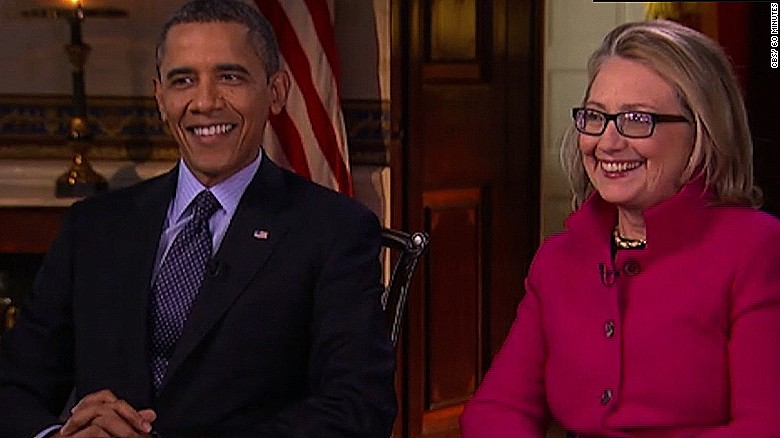 President Obama and Clinton: From foes to friends