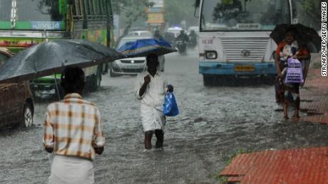 Monsoon season arrives ... finally