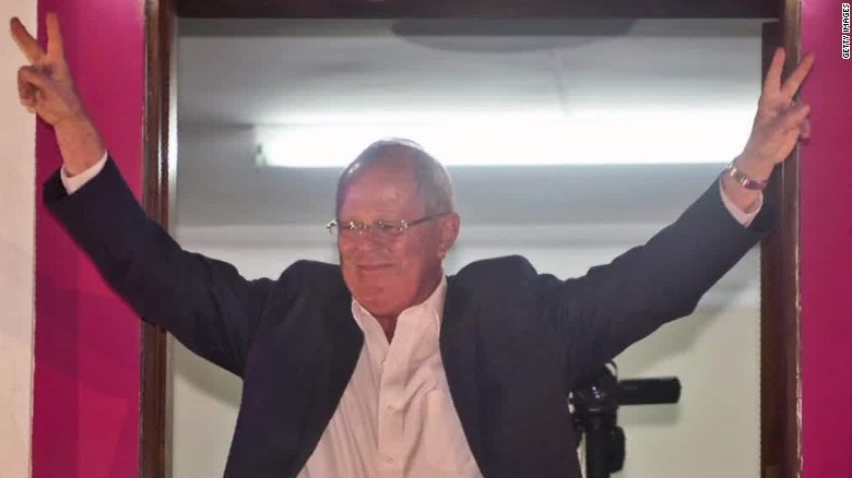Kuczynski on verge of win in Peru presidential election