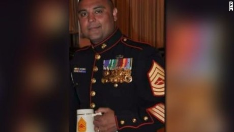 Retired Marine Master Sgt. Rodney Buentello