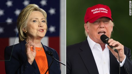 France attack highlights differences in Trump, Clinton terror responses