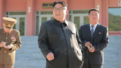 North Korean leader caught smoking during anti-smoking drive