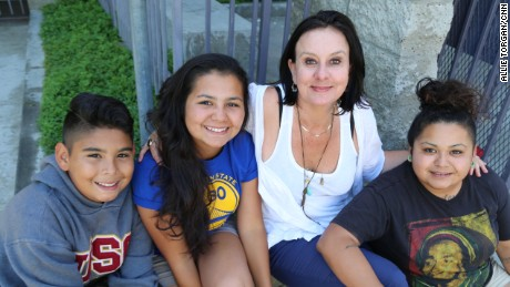 CNN Hero Georgie Smith helps young people like Marcy (right), who aged out of foster care, and her siblings