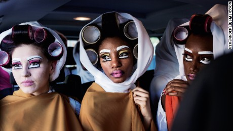 Behind the scenes of Africa's catwalks