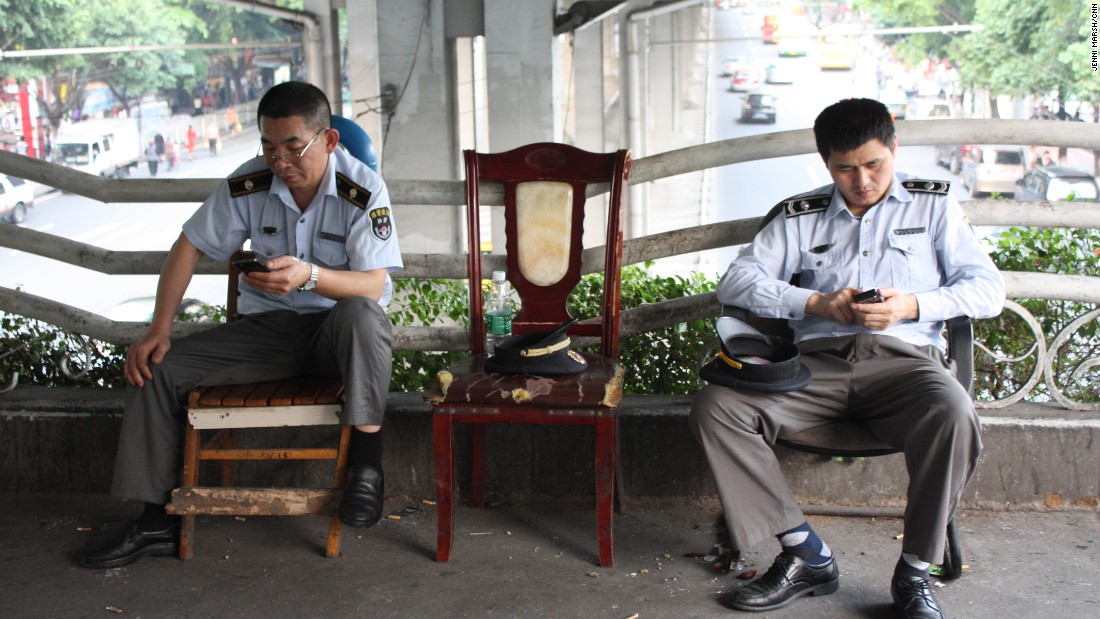 The police in Dengfeng perhaps weren't so attentive in 2014.