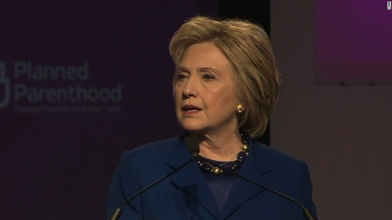 Hillary Clinton: Trump wants to move America backwards