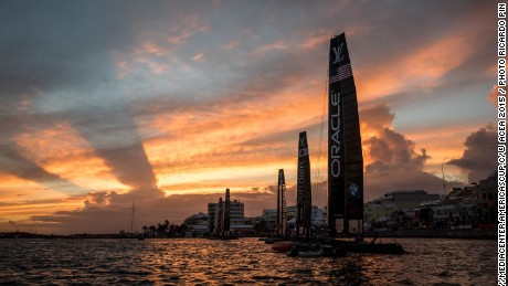 15/10/15 - Hamilton (BMU) - 35th America's Cup Bermuda 2017 - Louis Vuitton America's Cup World Series Bermuda - Training Day -2