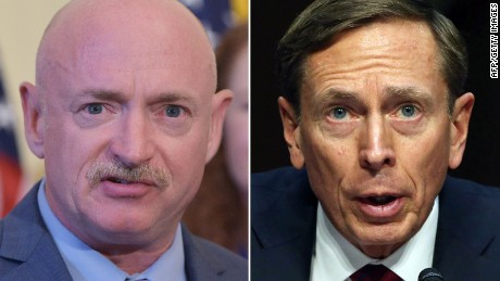 David Petraeus, Mark Kelly launch gun control group