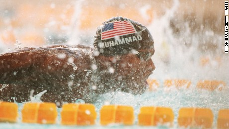 Former Stanford swimmer Sabir Muhammad said it's imperative for men to speak out against rape.