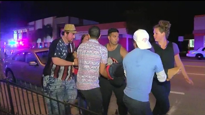 Witness: 'Blood everywhere' after Orlando club shooting
