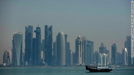 The woman has reportedly been in custody in Doha since mid-March.