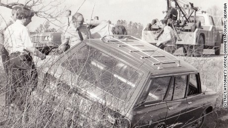 William Jordan and Ted Prevatte abducted and killed the owner of this car in 1974.