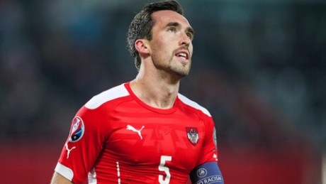 Austria's Christian Fuchs on Euro 2016