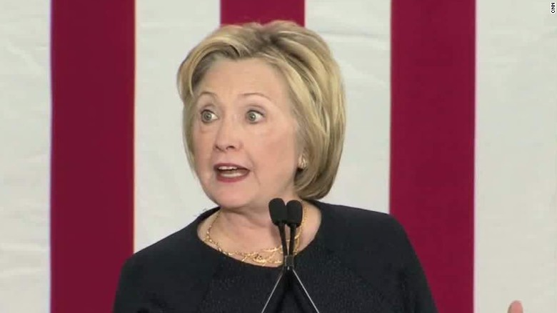 Clinton: 'Weapons of war have no place on our streets'